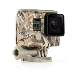 GoPro - Camo Housing + QuickClip (Realtree MAX-5®)