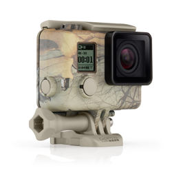 GoPro - Camo Housing + QuickClip (Realtree Xtra®)