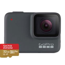 GoPro HERO7 Silver + SanDisk Extreme 32GB