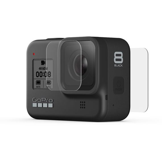 GoPro - Tempered Glass Lens + Screen Protectors (HERO8)